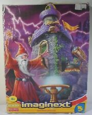 FISHER PRICE 2002 IMAGINEXT WIZARD'S TOWER # 78331 EUROPEAN BOXED 95% COMPLETE