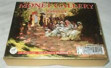 MONET GALLERY - SUMMER - SEALED BOXED DOUBLE PACK OF PLAYING CARDS