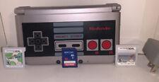 Nintendo 3DS XL Bundle Retro NES Edition Great Condition Mario Kart SD Card