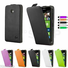 PU Leather Flip Case Cover for Sony Xperia M2 + Screen Protector & Stylus