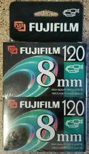 Fuji 8mm VIDEO Videocassette P6-120 High Quality 2 Pack