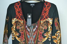 NEW AUTHENTIC JUST CAVALLI  JERSEY  DRESS  Size Small