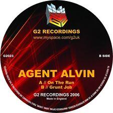 "Agent Alvin – On The Run NEW G2 G2 023 VINYL 12"" DRUM & BASS"