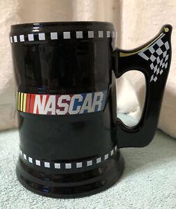 Nascar Large Ceramic Racing Mug-Black Collector