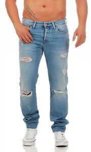JACK & JONES - MIKE VINTAGE - BL734 - Comfort Fit - Blau Herren Jeans Hose