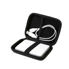 """Hard Carry Bag Compartment Case Bag Pouch Protection For 2.5"""" HDD Hard Disk"""