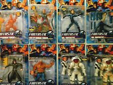 8x Sealed Nip Fantastic Four Movie Figures/Variant/Dr Doom/Mr Fantastic/Thing