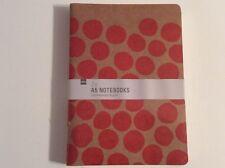 3 cahiers Carnet  bloc de note feuille papier memo agenda journal notebook