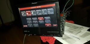 "PIONEER AVH-P5000DVD FLIP UP CD DVD 1 DIN 7"" RADIO."