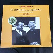 Rubinstein and Szeryng Brahms Violin Sonatas Audiophile CD BMCL115