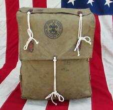 Vintage 1930s Boy Scouts Official No.574 Yucca Pack Backpack Canvas Diamond Mfg.