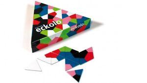 REMEMBER Eckolo Legespiel Anlegespiel Kartenspiel anspruchsvolle Farben & Formen