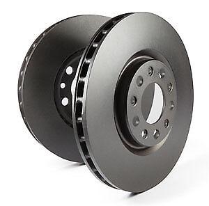 EBC Replacement Rear Solid Brake Discs for Audi 80 Quattro 1.8 (86 > 90)