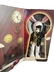Mezco LDD Living Dead Dolls Alice in Wonderland White Rabbit