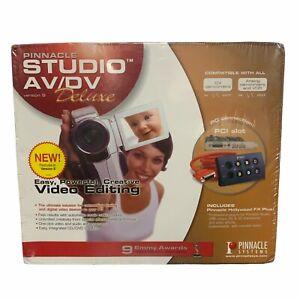 Pinnacle Studio AV/DV Version 9 Deluxe Video Editing & Effects Software NEW