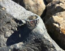 Solid Sterling Silver 925 Triskele RING Ethnic