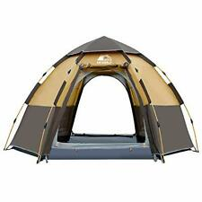 Hewolf Waterproof Instant Camping Tent - 2-3 Person Easy (Instant Tent Yellow)