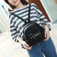 Fashion Women Backpack Good Quality Rivet School Backpacks Leather Backpack