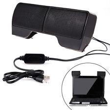 6W Mini USB Power Stereo Speaker System for Computer Laptop PC Desktop Notebook