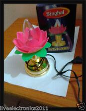 Lotus Diya Deepak Rice Light Lamp Diwali Home decoration LED Light