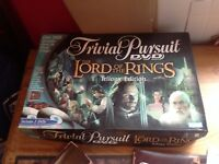 Parker - Trivial Pursuit - Lord Of The Rings DVD Trilogy Edition - Complete