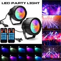 30W RGB+UV COB LED RGB Stage Lighting DMX Remote DJ Bar Disco KTV Party  L