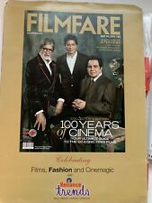 India Filmfare 100 Years Of Cinema Amitabh Bachchan, Dilip Kumar , Shah Rukh