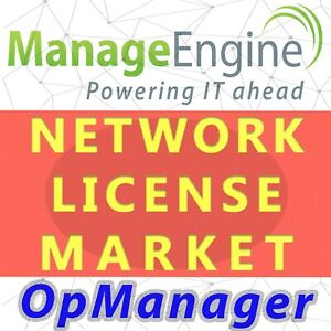 Manageengine OpManager  License - Permanent,Unlimited,Distributed Edition