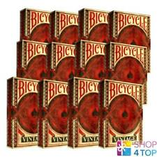 12 BICYCLE VINTAGE CLASSIC PLAYING CARDS DECK  MADE IN USA ORIGINAL OLD LOOK NEW