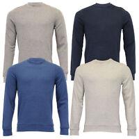 Mens Sweatshirt Threadbare Pullover Top Crew Neck Long Sleeved Casual Designer
