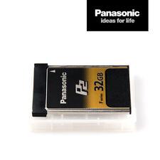 Panasonic Card AJ-P2E032FG | 32 GB P2-Speicher-Karte F-Series schnell MwSt.-Rng.