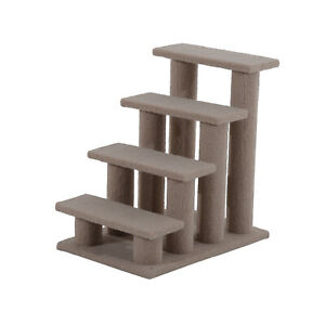 Cat Tree Ladder Activity Scratching Post Centre Kitten Climbing Scratcher Brown