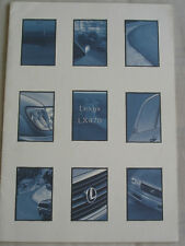Lexus LX470 brochure c1998 Australian market