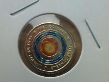 2018 Australia Lest We Forget - Eternal Flame $2 UNC MINT Coloured Coin