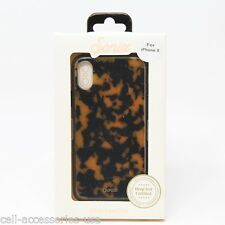 Brand New Sonix Clear Coat Luxe Case for Apple iPhone X - Brown Tortoise