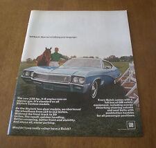 1960's CAR AUTOMOBILE LIFE MAGAZINE ADS YOU PICK BUICK DODGE CHEVELLE PONTIAC