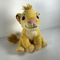 Disney Just Play Simba Plush Toy The Lion King Small Stuffed Animal 7""