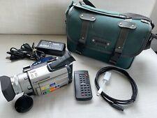 Sony Dcr-Trv900 Mini Dv 3-Ccd Progressive Scan Camcorder-Good Condition-Tested