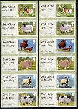 NEW NCR ERRORS 2nd + 2nd LARGE ON SHEEP in MATCHED STRIPS/6 ERROR POST & GO