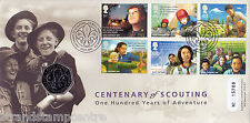 2007 Scouting Centenary - Royal Mint Official