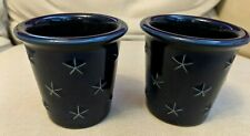Longaberger Proudly American Candle Votives Set of 2 & Candles Nib Made in Usa