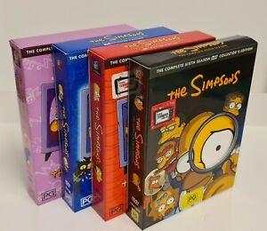Simpson Box Sets. Seasons, 3,4,5 & 6. Bulk Lot.
