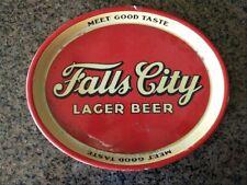 Falls City Beer Metal Tray