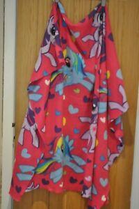 My Little Pony Bright Pink Large Fleece Blanket