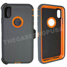 For Apple iPhone XS Max Defender Case Cover Clip Fits Otterbox Defender Series
