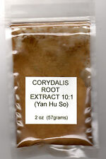 2 oz ounce Corydalis Root Extract 10:1 Yan Hu So - Chinese Herbal Pain Relief