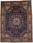 Floral Classic Hand Knotted Large 10X13 Vintage Oriental Rug Home Decor Carpet