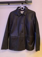 eddie bauer Womens  Lambskin Leather Jacket