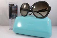 Tiffany & Co. TF 4116 8015/3B Havana/Gold New Authentic Sunglasses 56mm w/Case