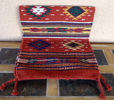Southwestern Table Runner 37-16X80 Hand Woven Southwest Wool Geometric Design